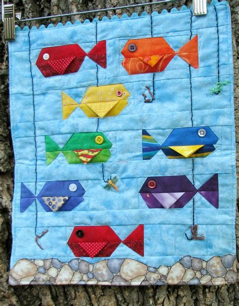 The Quilted Fish 25 unique fish quilt ideas on fish quilt