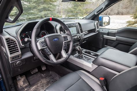 ford raptor interior review 2017 ford f 150 raptor supercrew canadian auto
