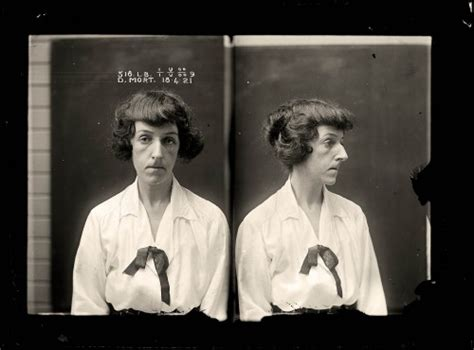 Criminal Record Number Mug Nonchalant Elegance