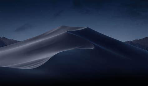 wallpaper macos mojave night dunes wwdc   os