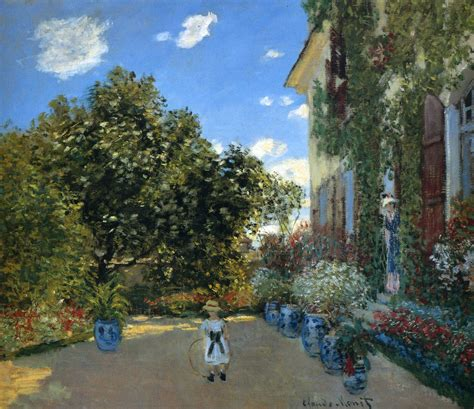 artist house the artist s house at argenteuil 1873 claude monet