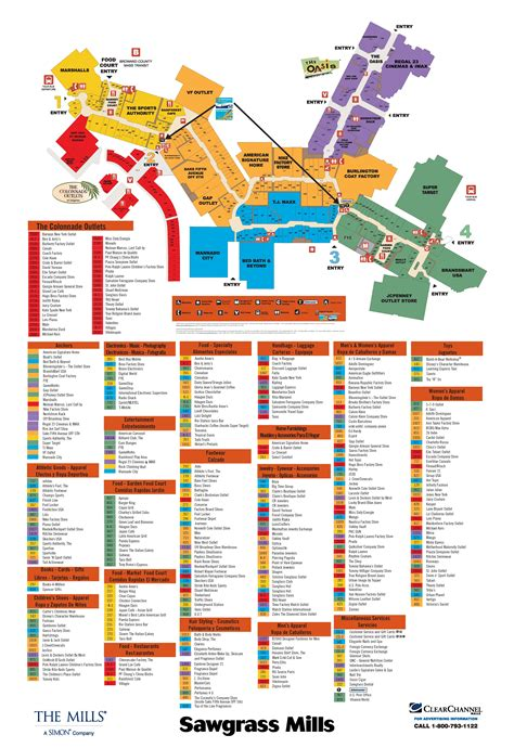 sawgrass mills map sawgrass mills store directory map