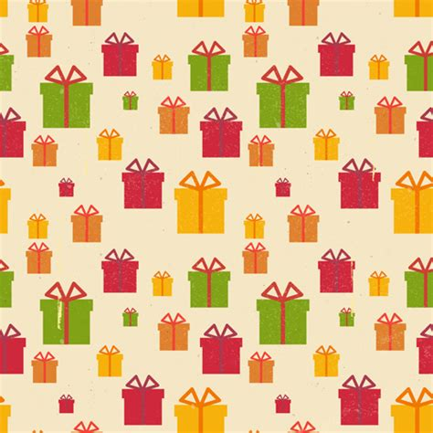 gift pattern vector christmas gift box vector seamless pattern vector 02
