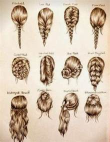 hair styles for shapes love all of these hairstyles especially the ponytail