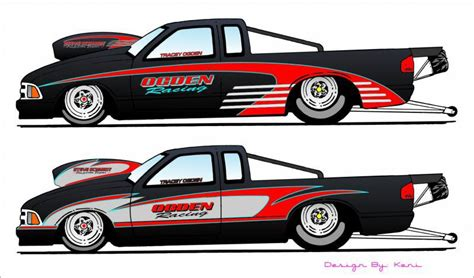 custom paint for drag race cars by keni s custom colors