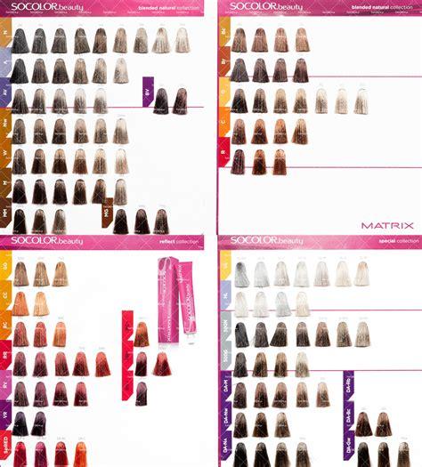 so color chart matrix socolor color chart hair colors color