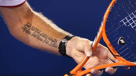Tennis Tattoo Fail | stan wawrinka close to putting the pieces together but i