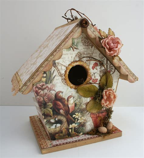 Decoupage House - this that makes me happy a new project and
