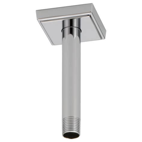 ceiling mount shower arm 6 quot ceiling mount shower arm and flange rp70764pc brizo