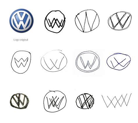 estos  redisenos de logos  mano alzada demuestran lo fragil  es la memoria marketing directo