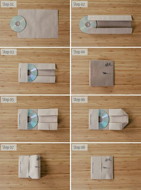 How To Make A Cd Cover Out Of Paper - cd diy paper crafts