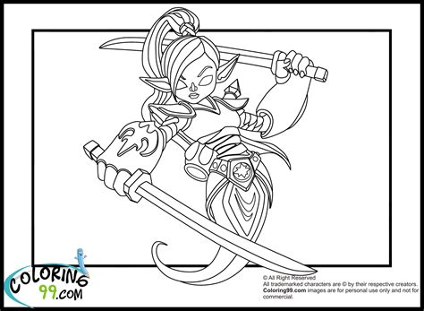 eye brawl skylander coloring page eye brawl the skylander free colouring pages