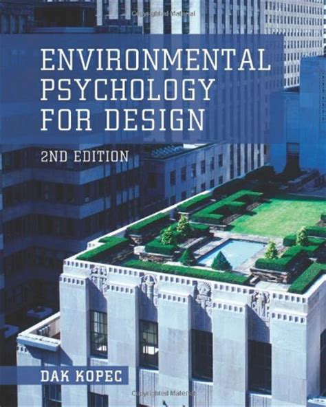 design for environment pdf read online environmental psychology for design by dak