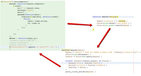 codeigniter xml tutorial how to implement a search in codeigniter and jquery ajax