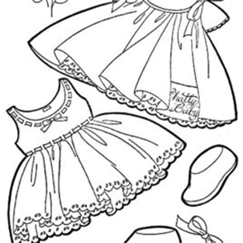 baby dress coloring page 1000 images about colouring pages on pinterest cute