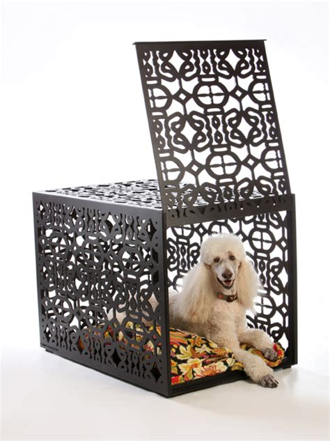 designer dog crates luxury pet crates contemporary dog lofts unique art