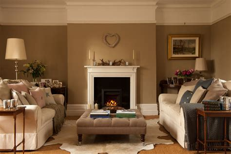 johnston interior design traditional living room