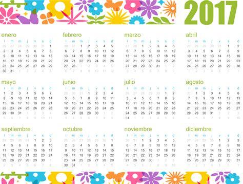 Calendario Mes A Mes Para Imprimir 2017 10 Plantillas De Calendario 2017 Para Imprimir Tuexperto