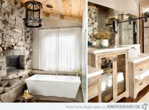 Rustic Lake House Decorating Ideas 15 bathroom designs of rustic elegance home design lover