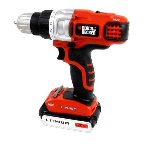 bleck decker black and decker 20v lithium drill review hacked gadgets
