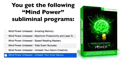 hacks program your brain for maximum confidence success and inner peace books prosperity power software by matt bacak best new