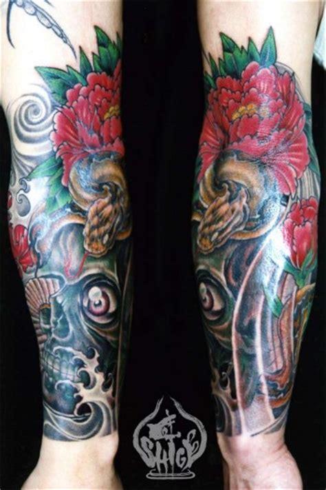 Tatuaje Para El Antebrazo De Una Calavera Saliendo Del Tatto Antebrazo