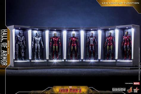 toyland iron man armor display fit hero bell