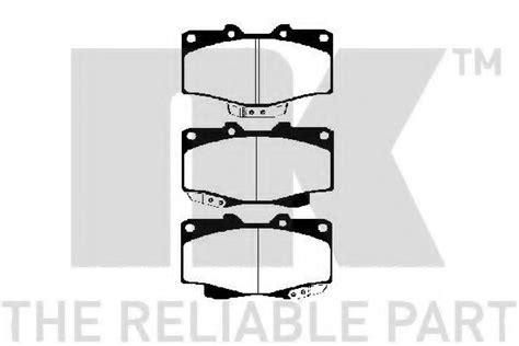 Disc Pad Toyota Hardtop 229962 nk 229962 brake pad set disc brake for toyota vw