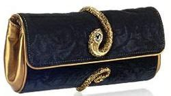 Roberto Cavalli Velvet Snake Wrap Clutch by 12 Best Jewelry Shoes Bags Images On My