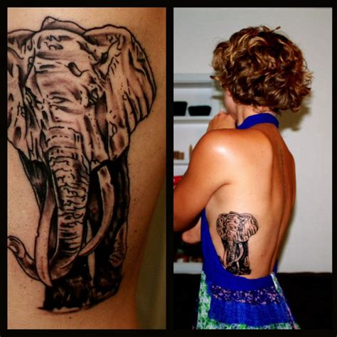 tattoo care south africa african elephant tattoo on side ribs back invokes
