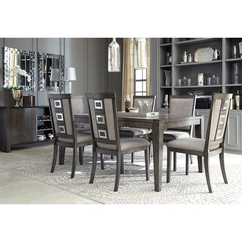 ashley dining room signature design by ashley chadoni formal dining room