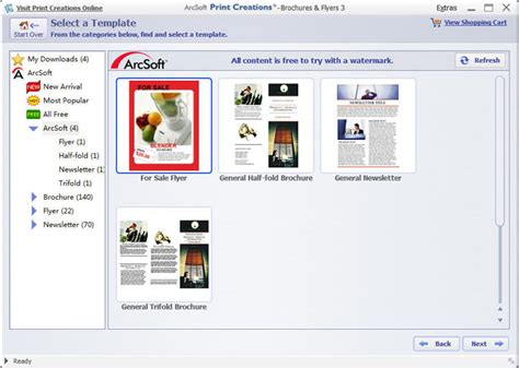 free software download flyer software