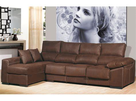 sofas 4 you sof 225 chaise longue de 4 plazas chaise longue color chocolate