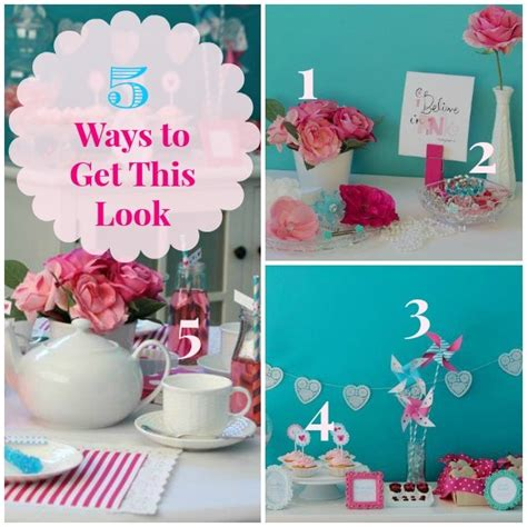 5 ways to get a luxury look for less 5 ways to get this look valentine tea infarrantly creative