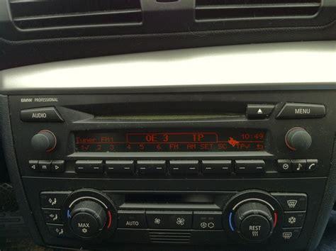 Bmw 1er E87 Radio Professional by Bmw Professional Bmw 1er 2er Forum Community