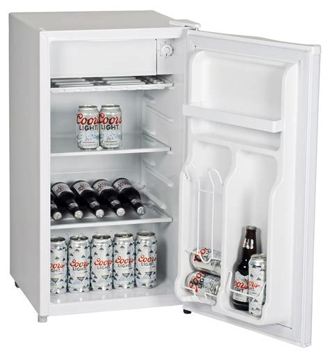 Coors Light Compact Mini Fridge 90 Litre. Small Refrigerator