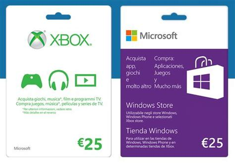 Microsoft 25 Gift Card Windows Store - offerta amazon gift card microsoft da 50 euro al costo di soli 38 46 euro e con