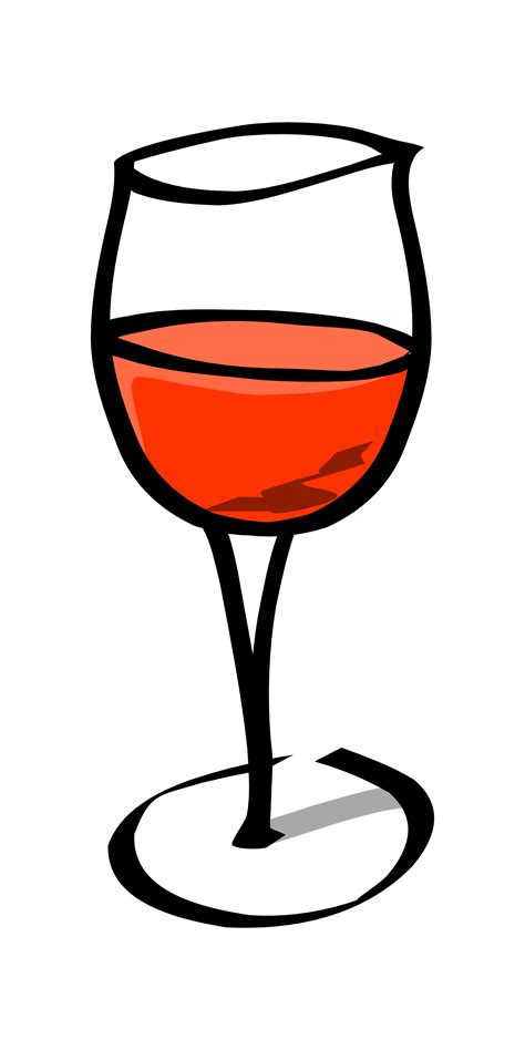 cartoon white wine glasses clipart black and white clipart panda free