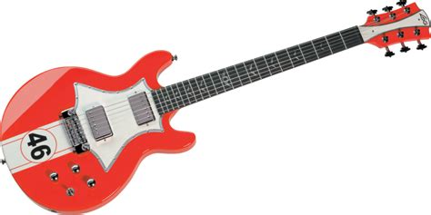 Garage Rock Guitar Tone by Lag Guitars Roxanne Racing Guitar Series Seymour Duncan