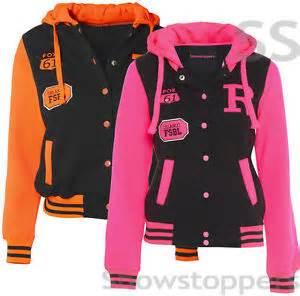 New girls jacket coat baseball hoody girls clothing age 7 8 9 10 11 12