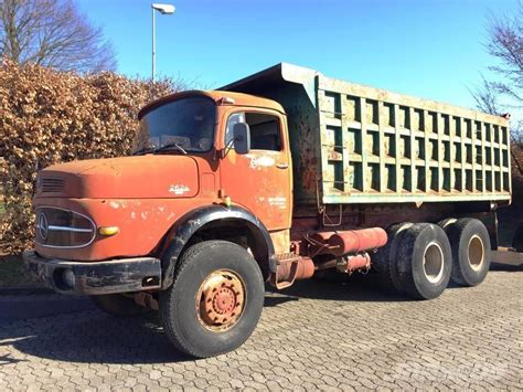 mercedes pickup truck 6x6 mercedes benz lak 2624 6x6 tipper trucks year of mnftr