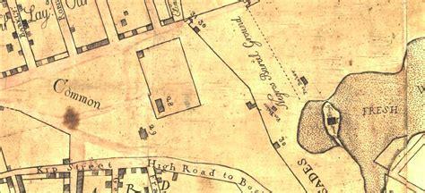american burial grounds map crolius potters green wood
