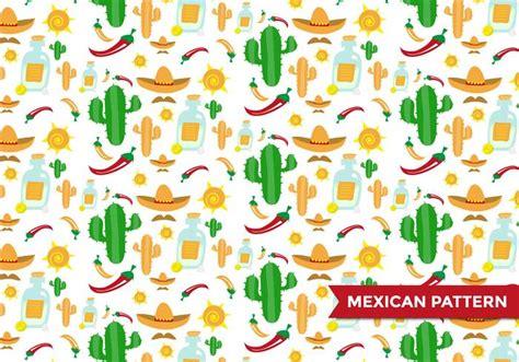 mexikanische muster mexican pattern vector free vector stock