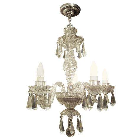1940s Chandelier 1940s Five Arm German Lead Chandelier At 1stdibs
