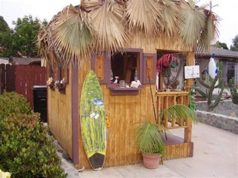 tiki hut shed backyard bar shed ideas build a bar right in your