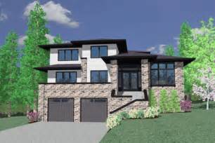 house plans with garage underneath modern style house plan 3 beds 2 5 baths 2310 sq ft plan