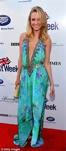 Mischa Barton And Cat Deeley by Mischa Barton Showcases Le Cleavage At Britweek
