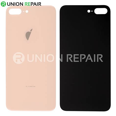 replacement for iphone 8 plus back cover gold