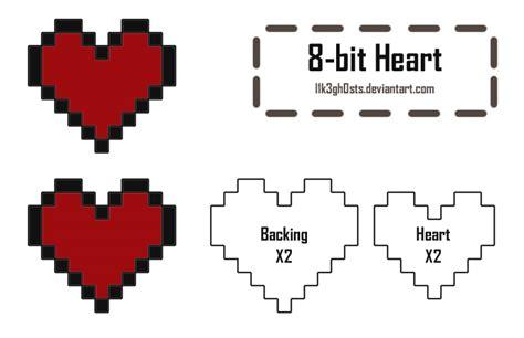 Pattern M Heart 8   pattern 8 bit heart by l1k3gh0sts on deviantart