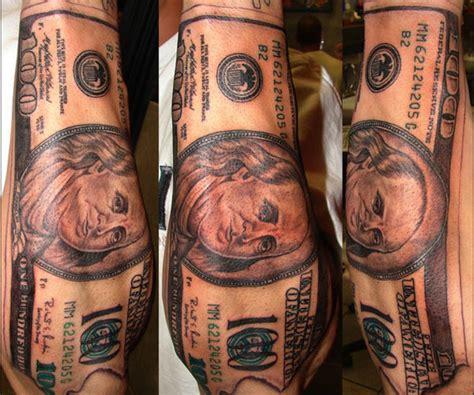 tattoo designs under 100 dollars 35 arresting money tattoos